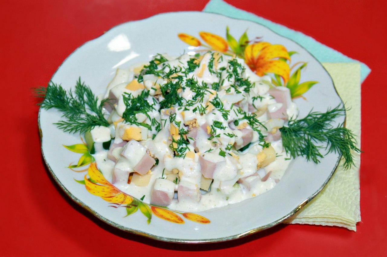 Салат натали с курицей рецепт с